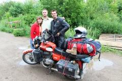 Serjoža a Julia u ktorých som mal motorku týždeň