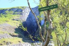 11 - Vodopády Vetifossen, jedny z najvyšších v Nórsku, park Jotunheimen