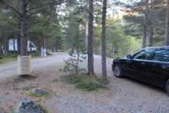 14 - Kemp priamo pod najvyšsím vrchom Norska