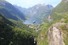 16 - Pohľad na Geirangerfjord