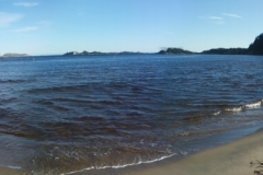 24 - Pláž mesta Mandal v Nórsku