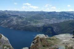 26 - Panoráma na Preikestolene, Lysefjord