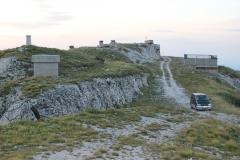 29 - Bývalá radarová stanica na vrchu Gola Plješavica