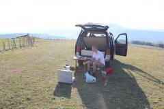 35 - Kempovanie pri meste Pluzine, Čierna Hora