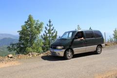 41 - Cesta ponad priehradu a jazero Fierse, Albansko