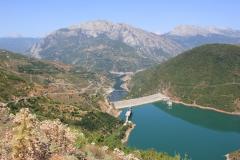 42 - Fierse-Comani, priehrada v Albansku