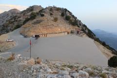 56 - Výstupná stanica pre paraglidistov na hore Babadag (1969 mnm), Turecko, Oludeniz
