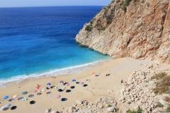 57 - Capputas plaji v Turecku, jedna z najkrajších pláží sveta