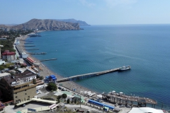77 - Pláž v Sudaku, Krym